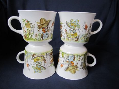 holly hobby coffee cups