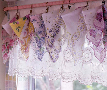 hanky curtains mini
