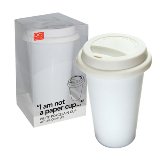 i am not a paper cup coffee cup