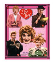 i love lucy 5 piece magnet set