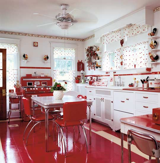 retro kitchen decor inspiration
