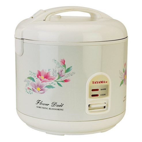 rice cooker shabby flowers